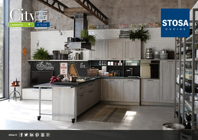 cucine contemporanee a Villabate, cucine Stosa villabate ...